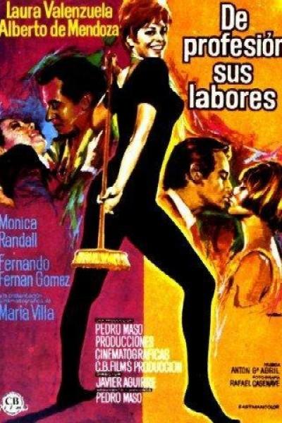 Caratula, cartel, poster o portada de De profesión, sus labores