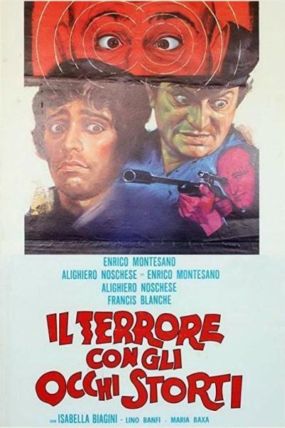Caratula, cartel, poster o portada de Il terrore con gli occhi storti