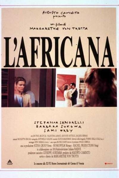 Caratula, cartel, poster o portada de L\'africana