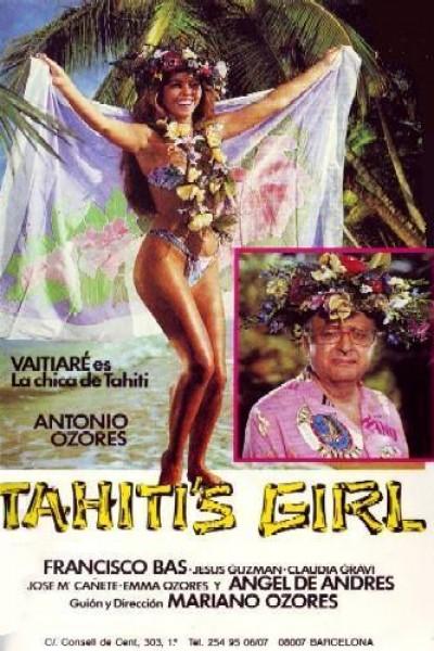 Caratula, cartel, poster o portada de La chica de Tahití