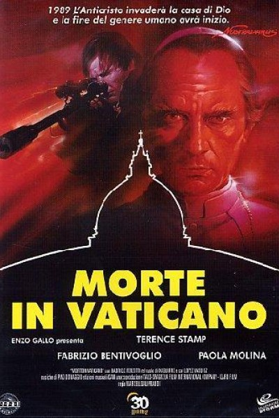 Caratula, cartel, poster o portada de Muerte en el Vaticano