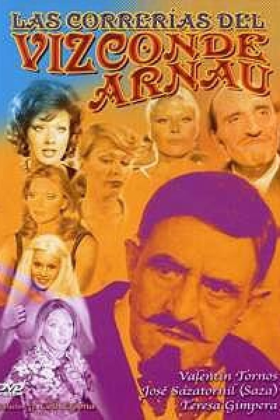 Caratula, cartel, poster o portada de Las correrías del Vizconde Arnau