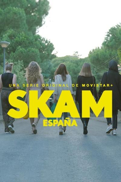 Caratula, cartel, poster o portada de Skam España