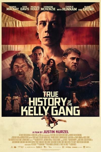 Caratula, cartel, poster o portada de La verdadera historia de la banda de Kelly