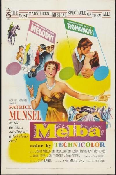 Caratula, cartel, poster o portada de El hechizo de Melba