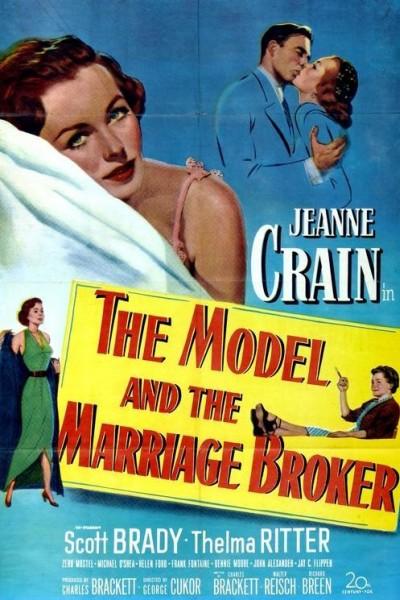 Caratula, cartel, poster o portada de La modelo y la casamentera