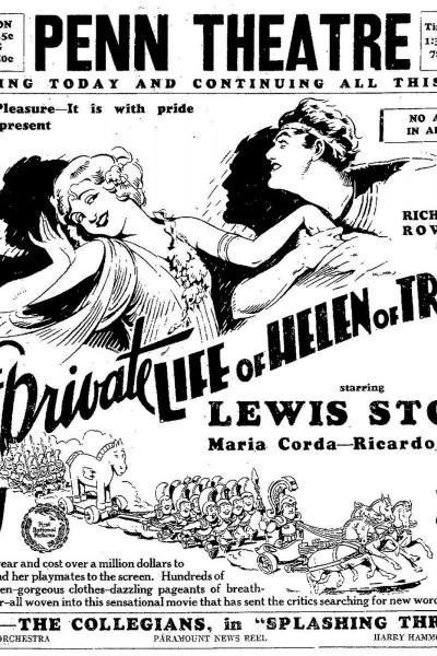 Caratula, cartel, poster o portada de La vida privada de Helena de Troya
