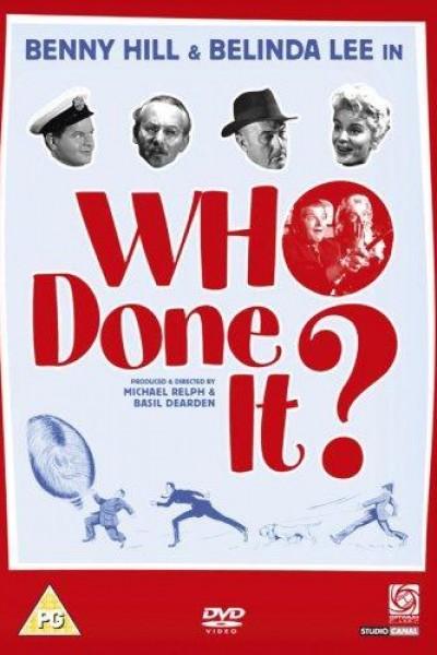 Caratula, cartel, poster o portada de Who Done It?
