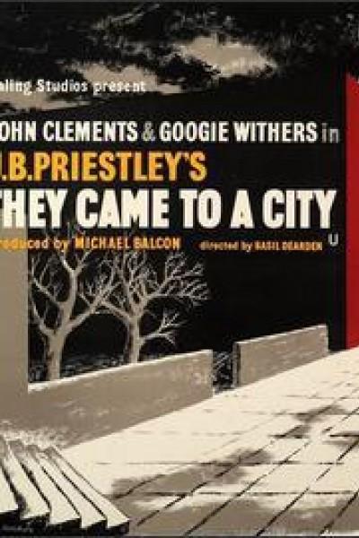 Caratula, cartel, poster o portada de They Came to a City