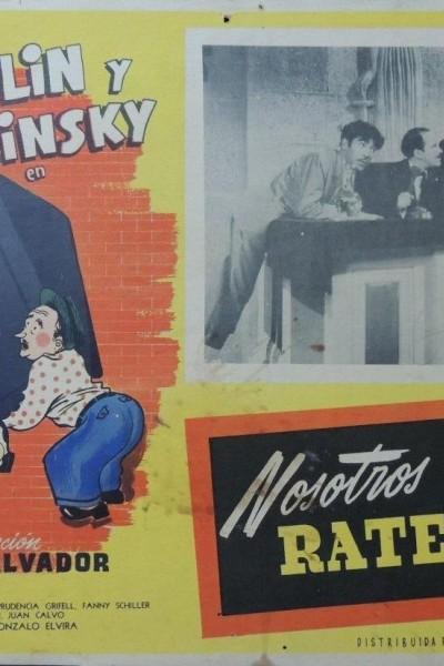 Caratula, cartel, poster o portada de Nosotros los rateros