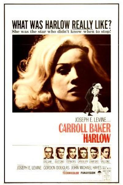 Caratula, cartel, poster o portada de Harlow, la rubia platino