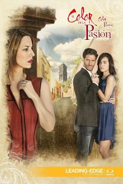 Caratula, cartel, poster o portada de El color de la pasión