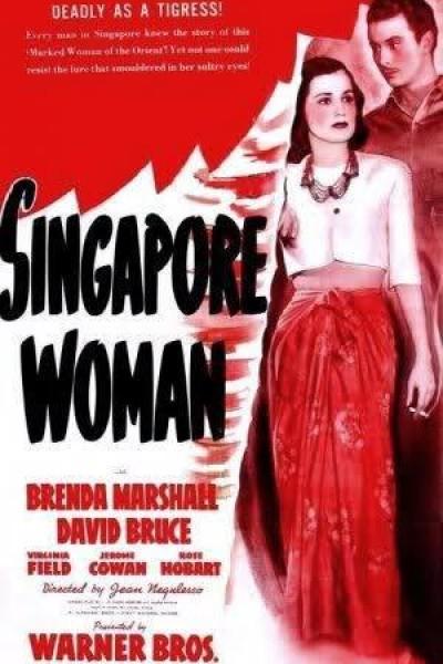 Caratula, cartel, poster o portada de La mujer de Singapur