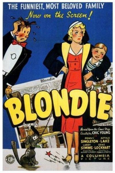 Caratula, cartel, poster o portada de Blondie