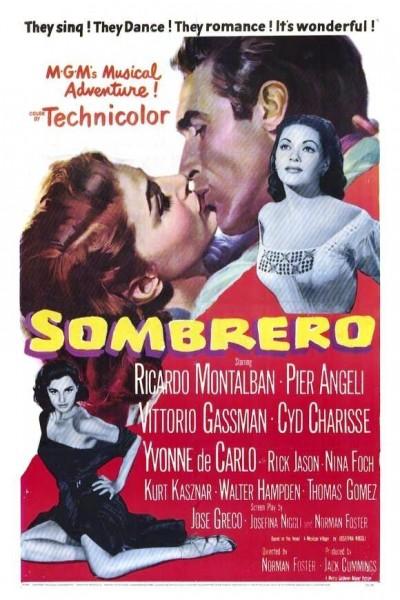 Caratula, cartel, poster o portada de Sombrero