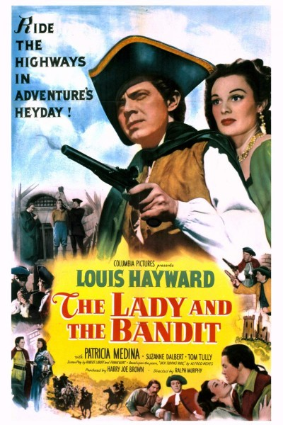 Caratula, cartel, poster o portada de The Lady and the Bandit