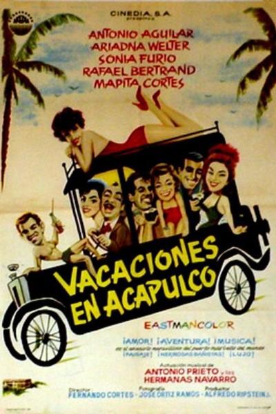 Caratula, cartel, poster o portada de Vacaciones en Acapulco