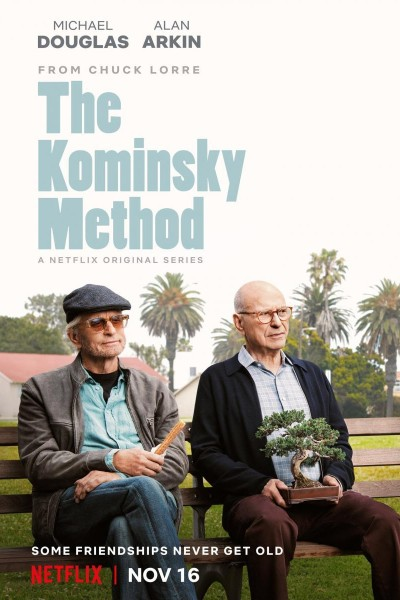 Caratula, cartel, poster o portada de El método Kominsky