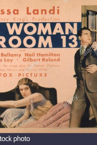 Caratula, cartel, poster o portada de La dama del 13