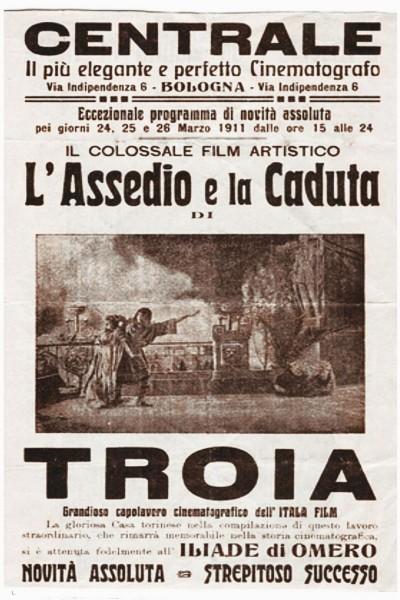 Caratula, cartel, poster o portada de La caída de Troya