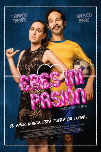Caratula, cartel, poster o portada de Eres mi pasión