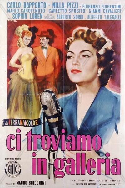 Caratula, cartel, poster o portada de Ci troviamo in galleria