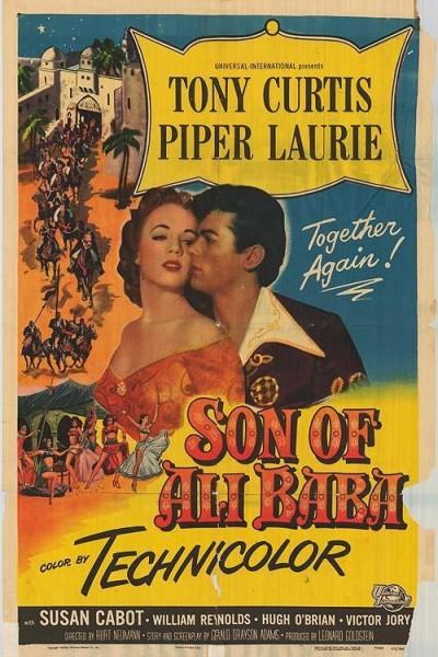 Caratula, cartel, poster o portada de El hijo de Alí Babá