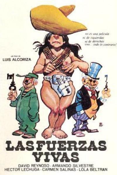 Caratula, cartel, poster o portada de Las fuerzas vivas