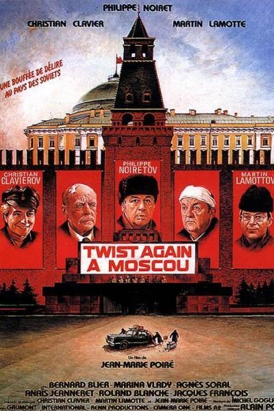 Caratula, cartel, poster o portada de Twist again à Moscou
