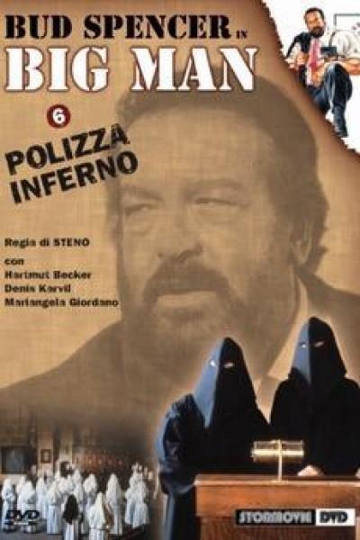 Caratula, cartel, poster o portada de Al infierno la policía