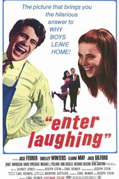 Caratula, cartel, poster o portada de Enter Laughing
