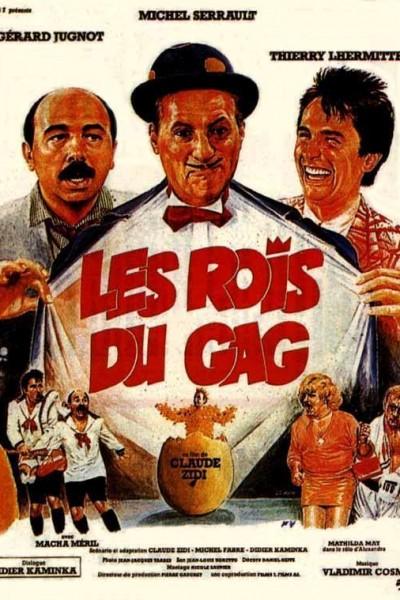 Caratula, cartel, poster o portada de Les rois du gag