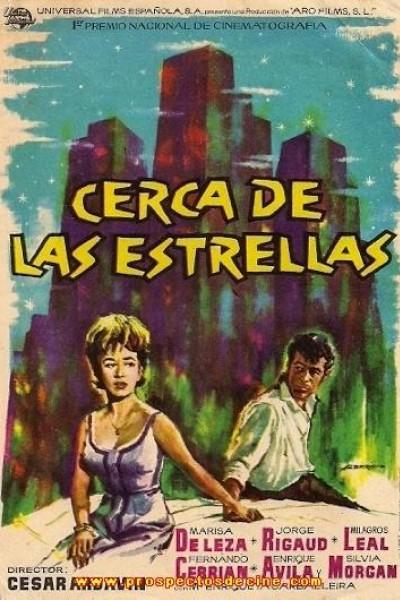 Caratula, cartel, poster o portada de Cerca de las estrellas