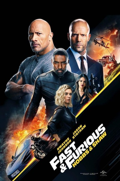 Caratula, cartel, poster o portada de Fast & Furious: Hobbs & Shaw