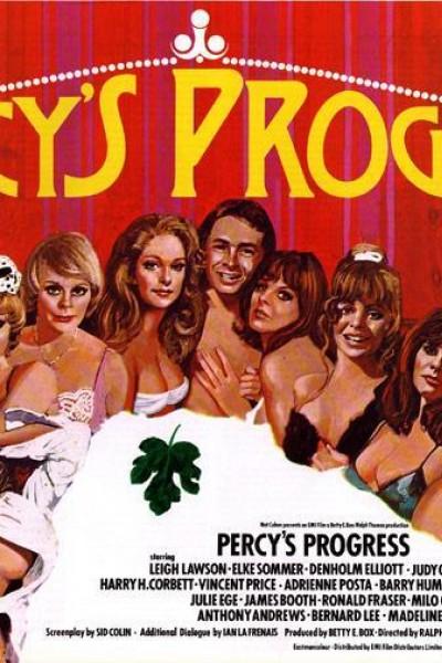 Caratula, cartel, poster o portada de Percy\'s Progress