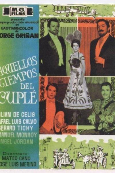 Caratula, cartel, poster o portada de Aquellos tiempos del cuplé