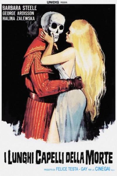 Caratula, cartel, poster o portada de Los largos cabellos de la muerte