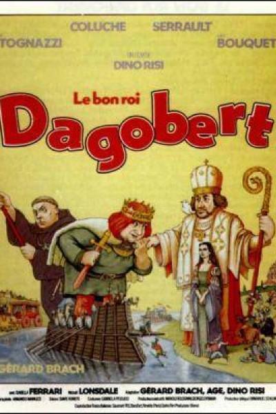 Caratula, cartel, poster o portada de Dagobertus, locas historias medievales