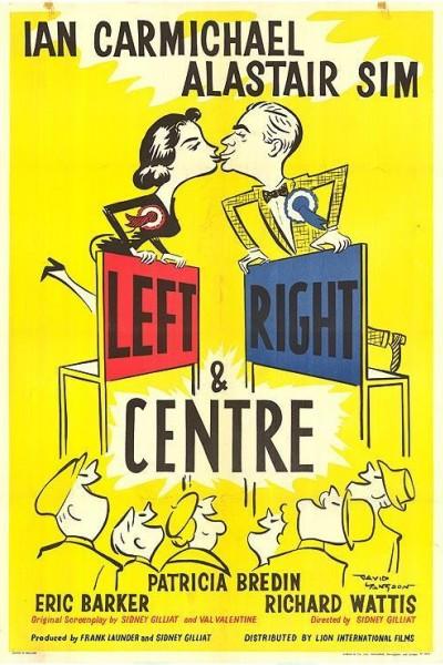 Caratula, cartel, poster o portada de Izquierda, derecha y centro