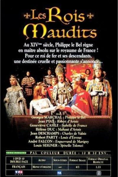 Caratula, cartel, poster o portada de Les rois maudits