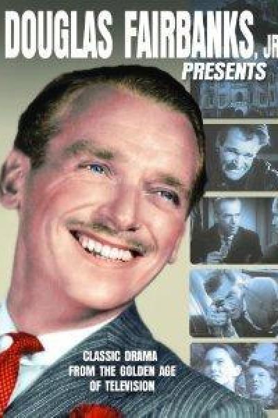 Caratula, cartel, poster o portada de Douglas Fairbanks Jr. Presenta
