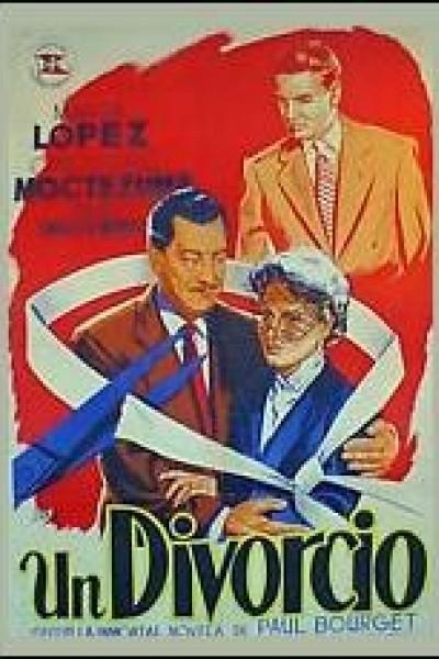 Caratula, cartel, poster o portada de Un divorcio