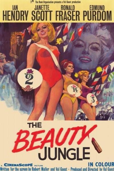 Caratula, cartel, poster o portada de La jungla de la belleza