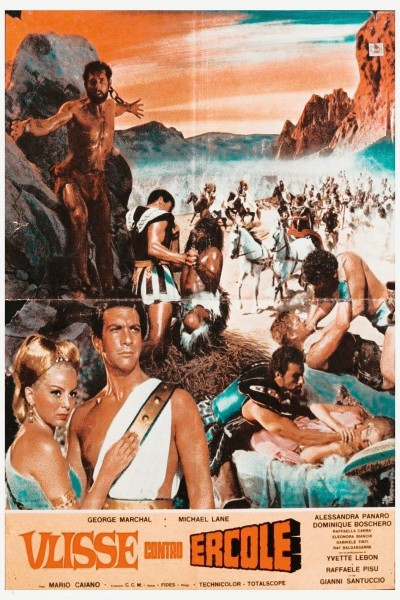 Caratula, cartel, poster o portada de Ulises contra Hércules