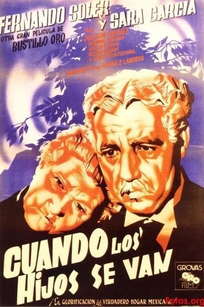 Caratula, cartel, poster o portada de Cuando los hijos se van
