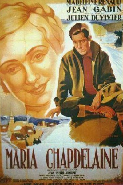 Caratula, cartel, poster o portada de Maria Chapdelaine