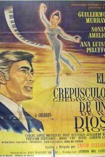 Caratula, cartel, poster o portada de El crepúsculo de un Dios