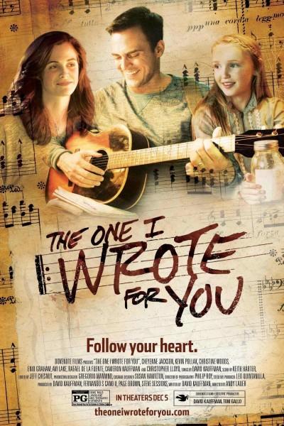 Caratula, cartel, poster o portada de The One I Wrote for You