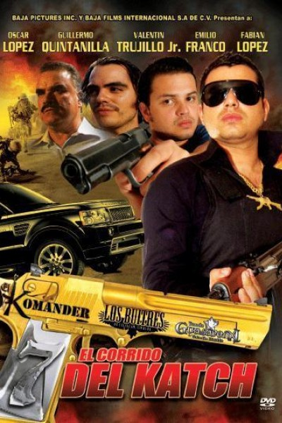 Caratula, cartel, poster o portada de El corrido del Katch