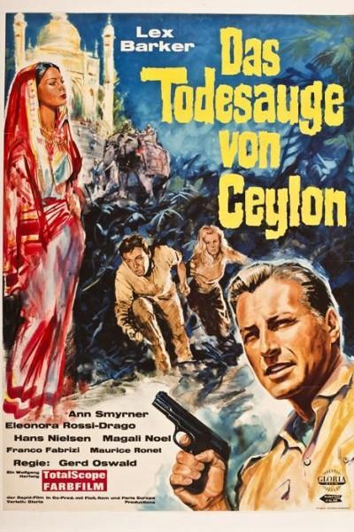 Caratula, cartel, poster o portada de Tempestad en Ceylán